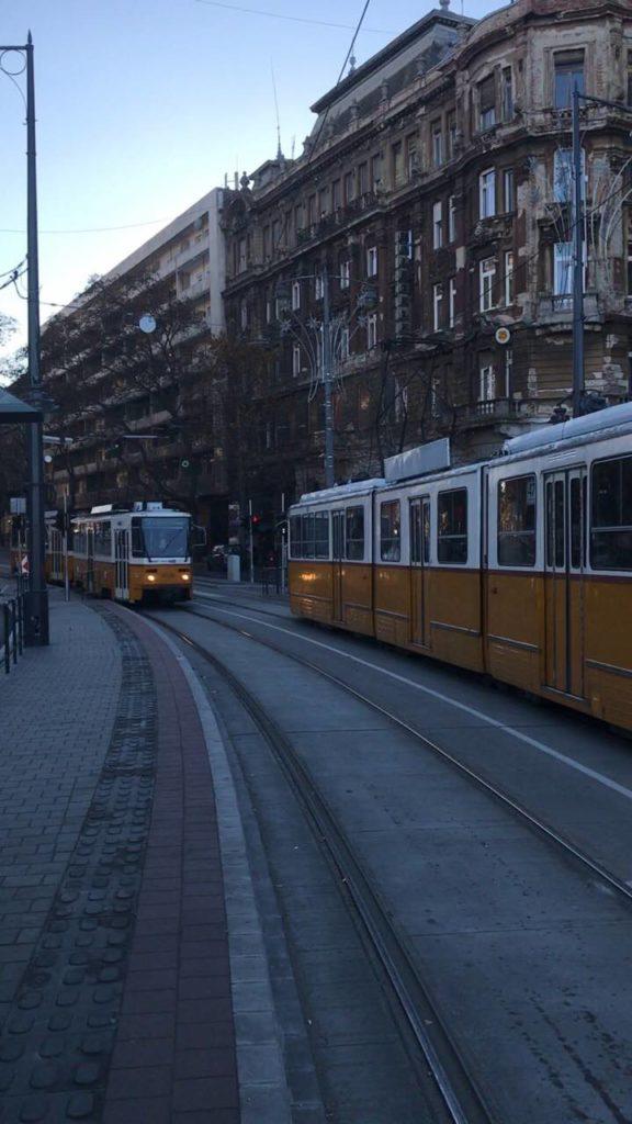 Το τραμ στη Βουδαπέστη είναι ένας απο τους καλύτερους τρόπους μεταφοράς