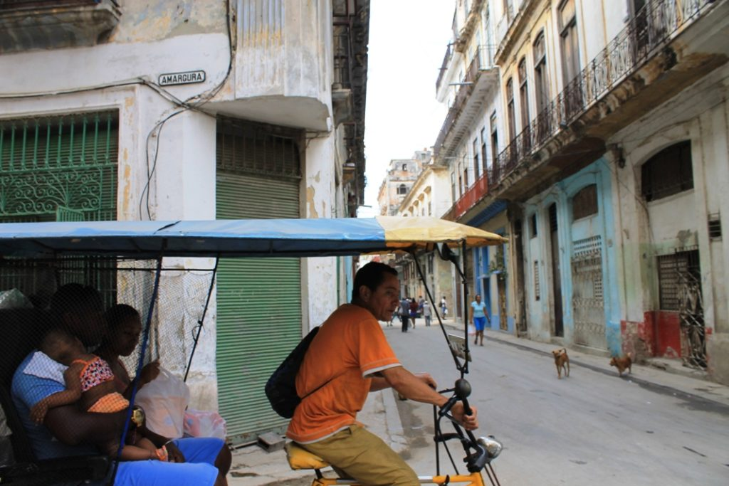 Ciclo taxi στην Αβάνα