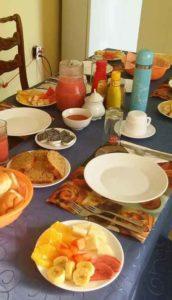 πρωινό στο Τρινιδάδ