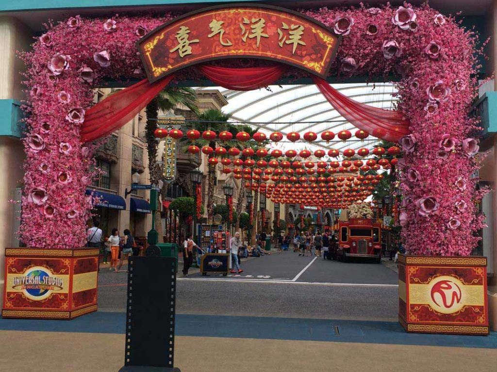 Universal Studios @ Sentosa island - Singapore