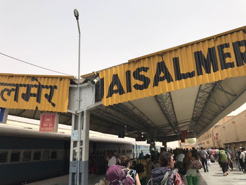 τρένο στην Ινδία