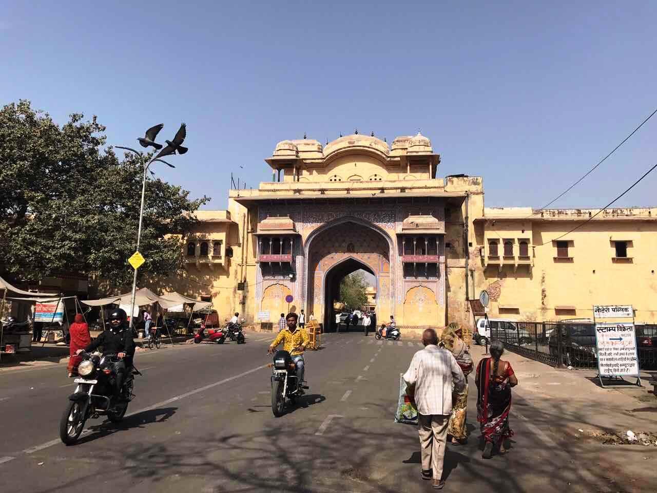Είσοδος στην Pink City της Jaipur