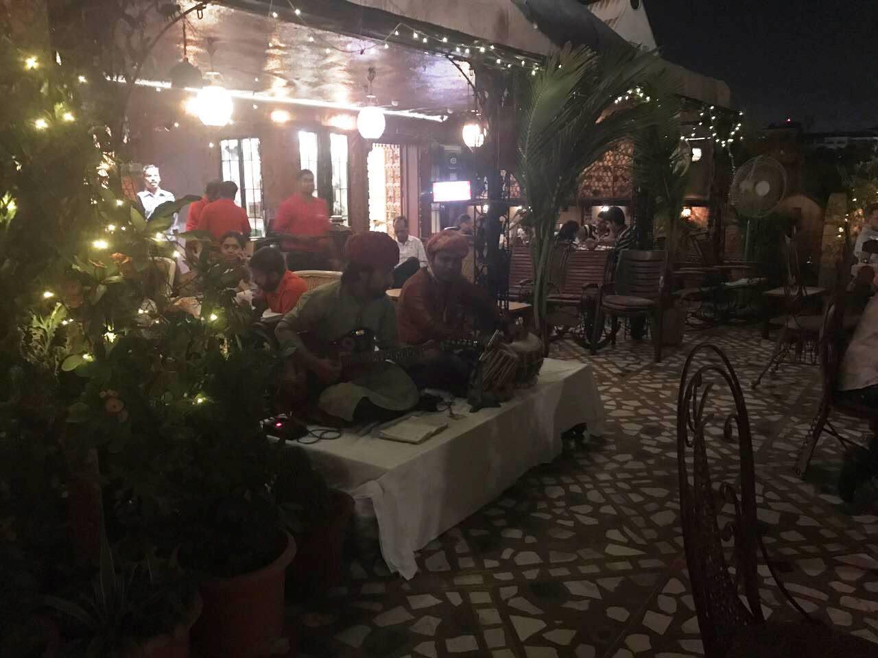 Indian music @ Peacock restaurant