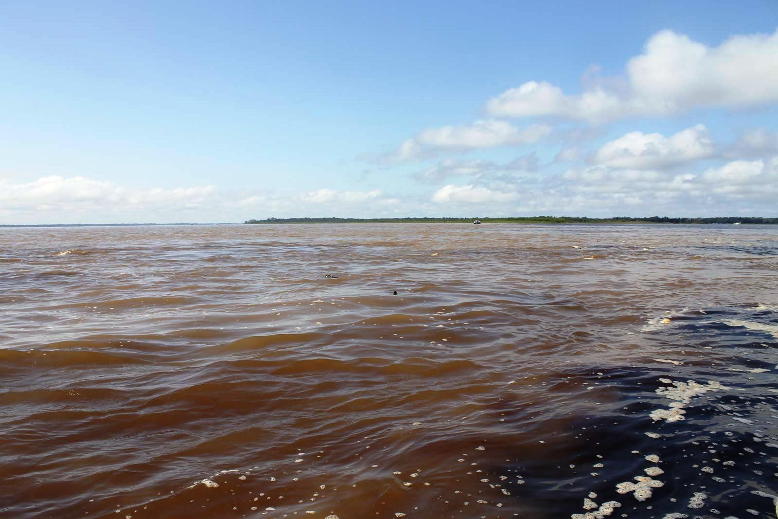 manaus - the meeting of waters