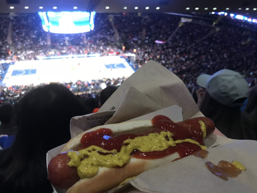 Hot Dog at NBA